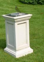 Georgian plinth for a stainless Spot-On sundial