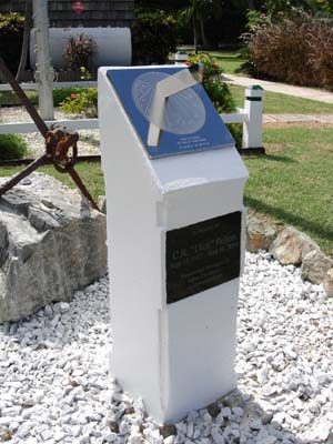 Horizontal sundials need to be on sloping plinths within the tropics
